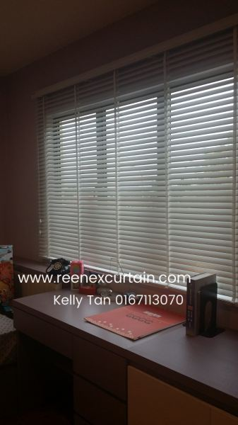 TV007 Timber Venation Blinds Venetian Blinds Johor Bahru JB Malaysia Supply Suppliers Manufacturer | Reenex Curtain Design