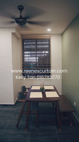 TV0013 (2) Timber Venation Blinds Venetian Blinds Johor Bahru JB Malaysia Supply Suppliers Manufacturer | Reenex Curtain Design