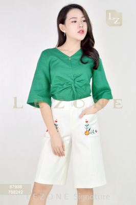 768242 POCKET EMBROIDERED DETAIL CULOTTES��1st 35% 2nd 45% 3rd 55%��