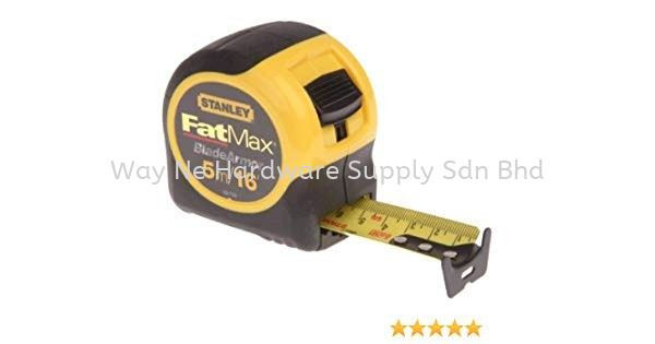 New Stanley Fatmax Tapes Fatmax Tapes Measuring& Layout Tools Stanley Selangor, Malaysia, Kuala Lumpur (KL), Klang Supplier, Suppliers, Supply, Supplies | Way Ne Hardware Supply Sdn Bhd