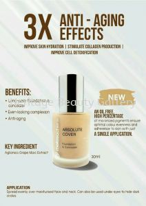 New product coming soon Melissachen foundation with new formula