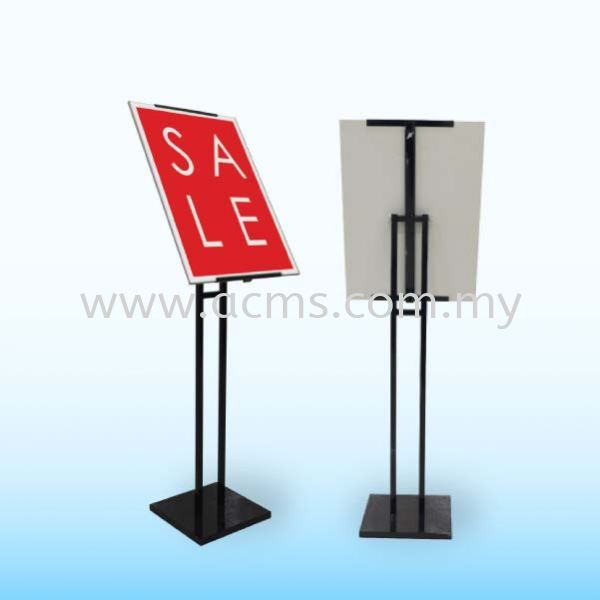 Poster Stand-SP5 MENU & POSTER STAND DISPLAY SYSTEM Selangor, Malaysia, Kuala Lumpur (KL), Sungai Buloh Supplier, Suppliers, Supply, Supplies | AC Marketing Solution Sdn Bhd