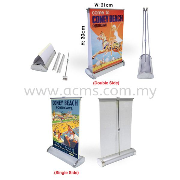 Roll Up Series-Mini Roll Up-R21 Pg1 MINI ROLL UP ROLL UP STAND DISPLAY SYSTEM Selangor, Malaysia, Kuala Lumpur (KL), Sungai Buloh Supplier, Suppliers, Supply, Supplies   AC Marketing Solution Sdn Bhd