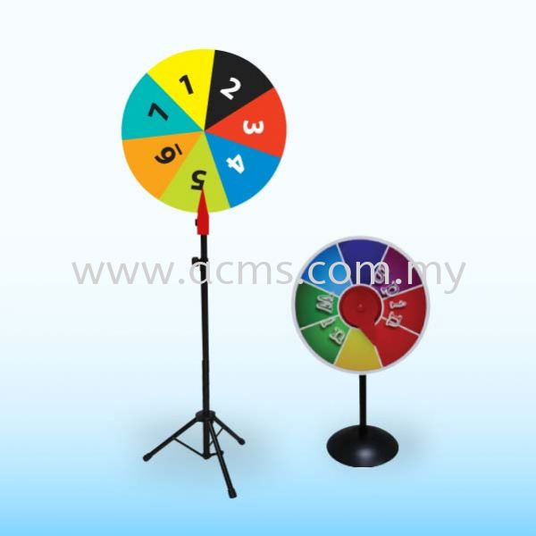 Wheel of Fortune Stand- SFW80 & SFW30 WHEEL OF FORTUNE STAND DISPLAY SYSTEM Selangor, Malaysia, Kuala Lumpur (KL), Sungai Buloh Supplier, Suppliers, Supply, Supplies | AC Marketing Solution Sdn Bhd