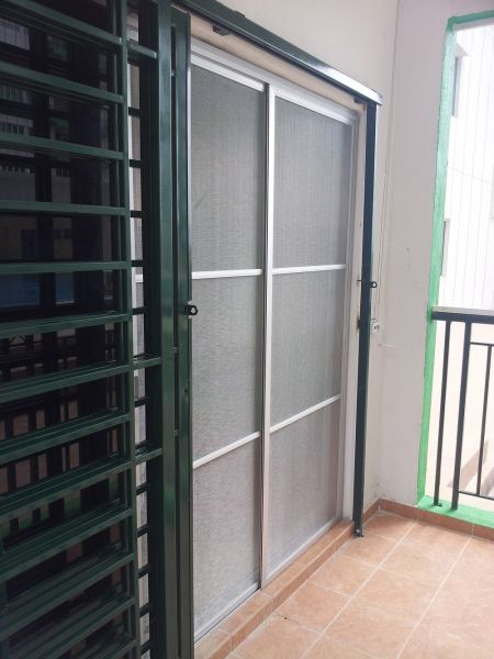 ALUMINIUM SLIDING DOOR INSECT SCREEN / Mosquito Net Aluminium Sliding Door Insect Screen Selangor, Malaysia, Melaka, Kuala Lumpur (KL), Puchong Supplier, Supply, Supplies, Installation | Advance Insect Screen
