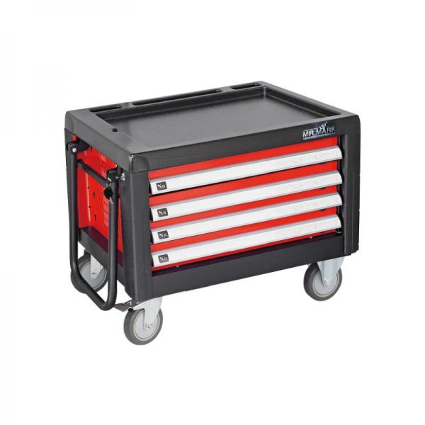 MK-EQP-0301 4 DRAWER CHEST AND ROLLER CABINET Tool Chest, Tool Boxes, Trolley, Tool Kit Set and Assortments Malaysia, Johor Bahru (JB), Ulu Tiram Supplier, Suppliers, Supply, Supplies   Mr. Mark Tools (M) Sdn. Bhd.