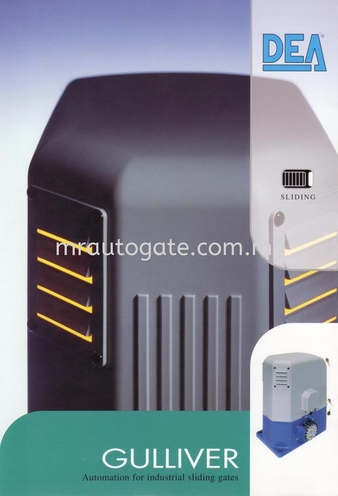 DEA Gulliver 1500 AC Sliding Auto Gate