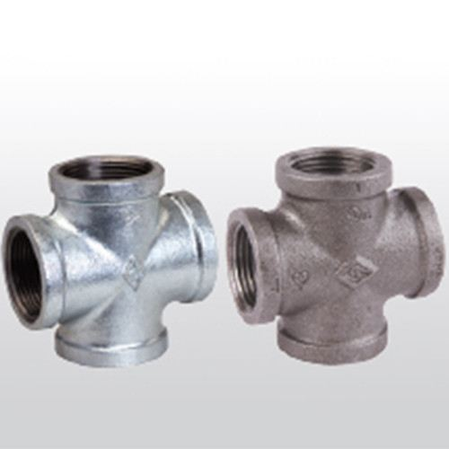 Cross Tee, Branded, Equal Malleable Iron Fittings - Steam & G.I. BSPT Thread Malaysia, Selangor, Kuala Lumpur (KL), Puchong Supplier, Suppliers, Supply, Supplies | Chuan Foong Hardware Sdn Bhd