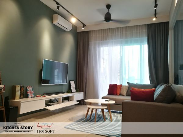 Living Room T.V Cabinets / Consoles Penang, Malaysia, Bayan Lepas Kitchen, Design | Kitchen Story Sdn Bhd