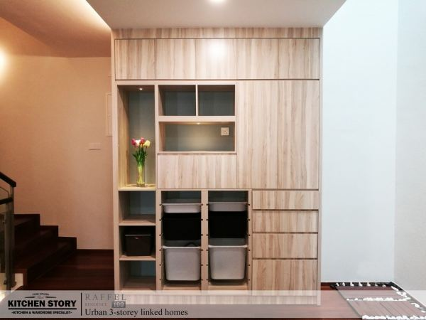Family Room Display Cabinet Custom Made Display Cabinet  Penang, Malaysia, Bayan Lepas Kitchen, Design | Kitchen Story Sdn Bhd