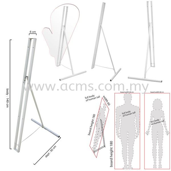 Human Stand (ST2) ST2 HUMAN STAND / A STAND SERIES DISPLAY SYSTEM Selangor, Malaysia, Kuala Lumpur (KL), Sungai Buloh Supplier, Suppliers, Supply, Supplies | AC Marketing Solution Sdn Bhd
