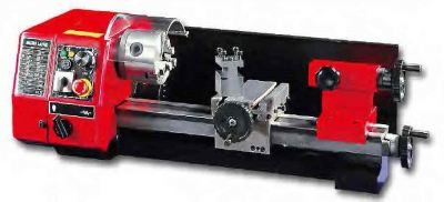 SIEG 250MM MICRO LATHE MACHINE 150W 230V C/W STD ACCES  (80MM 3 JAW CHUCK, OIL CAN & WRENCH SET), C1