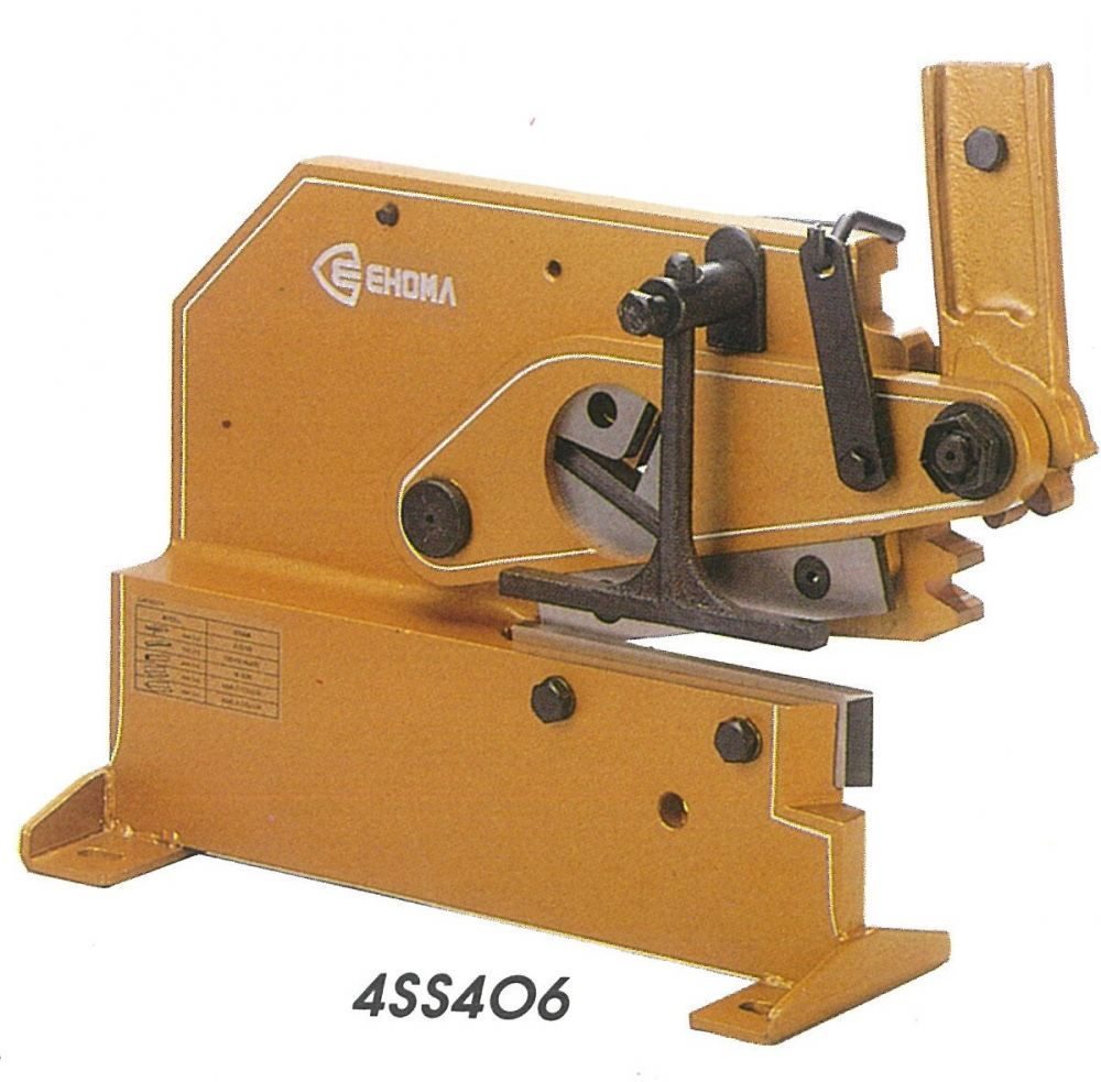 EHOMA PLATE BAR & SECTION SHEAR - H S  8MM PLATE 16MM BAR