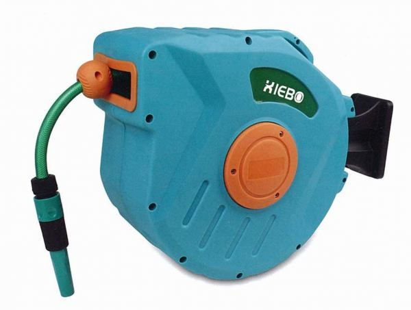 XIEBO RETRACTABLE (PVC) WATER HOSE WITH REEL, XBW-02-15M GARDEN TOOLS Singapore, Kallang Supplier, Suppliers, Supply, Supplies | DIYTOOLS.SG