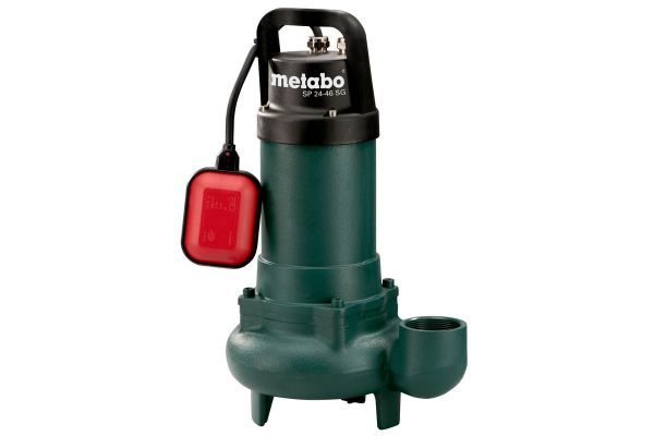 """METABO CAST IRON BODY SUBMERSIBLE SEWAGE  PUMP, 900WATT, 24000LITRE/H, DELIVERY HT 9M, 2"""" OUTLET, SP 24-46 SG SUBMERSIBLE WATER PUMP / NON SUBMERSIBLE WATER PUMP OTHER TOOLS Singapore, Kallang Supplier, Suppliers, Supply, Supplies   DIYTOOLS.SG"""