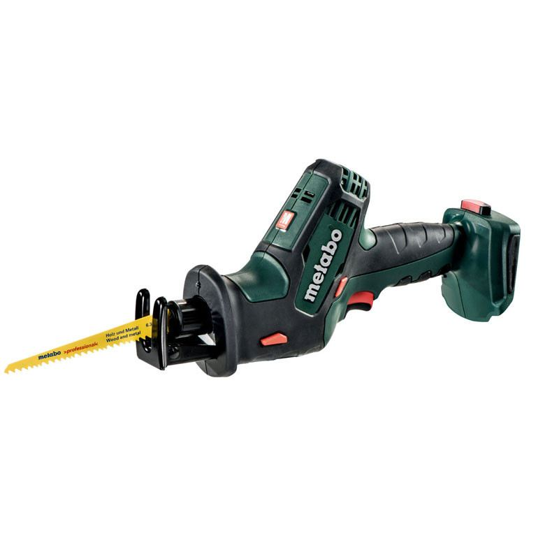 METABO 18V ALL PURPOSE SAW, SSE 18 LTX COMPACT (WITHOUT BATTERY AND CHARGER)
