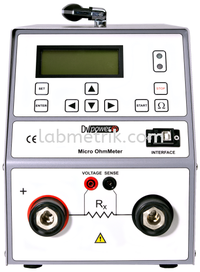 Protective Earth Resistance Meter RMO100E Electrical Safety Test Equipment DV Power Kuala Lumpur (KL), Malaysia, Selangor Supplier, Suppliers, Supply, Supplies | Labmetrik Electrical Sdn Bhd