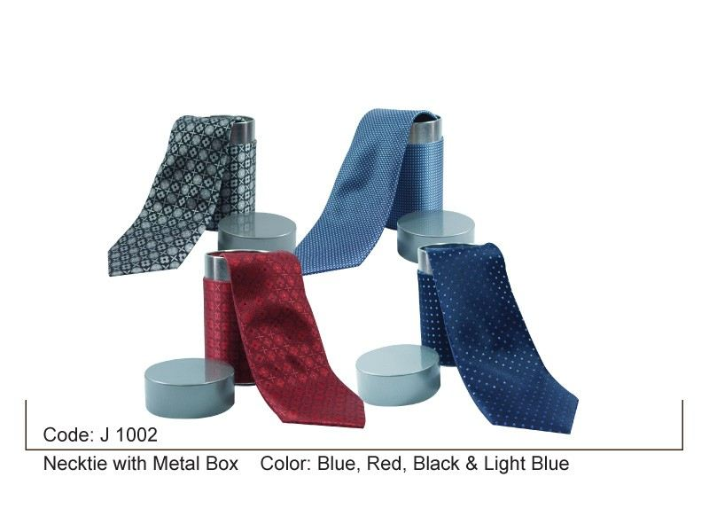 Necktie with Metal Box Tie Premium Item Penang, Malaysia, Bayan Lepas Supplier, Suppliers, Supply, Supplies | Coral Gift Sdn Bhd
