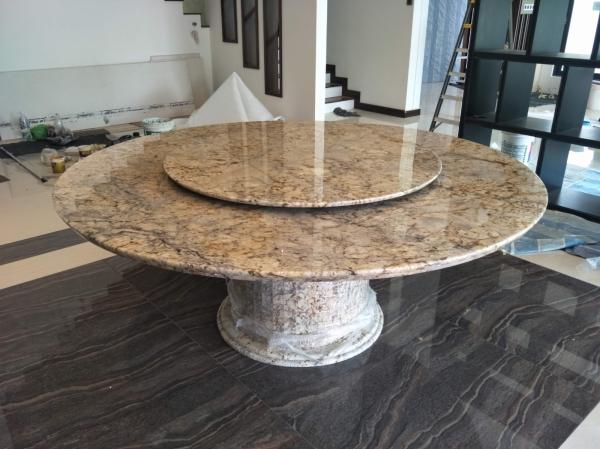 Granite - Typhoon Bordeaux Marble Dining Table Selangor, Kuala Lumpur (KL), Malaysia Supplier, Suppliers, Supply, Supplies | DeCasa Marble Sdn Bhd