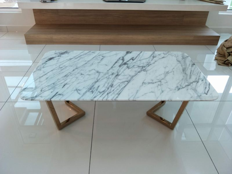 Whtie Marble Coffee Table - Statuario Marble Marble Coffee Table Selangor, Kuala Lumpur (KL), Malaysia Supplier, Suppliers, Supply, Supplies | DeCasa Marble Sdn Bhd