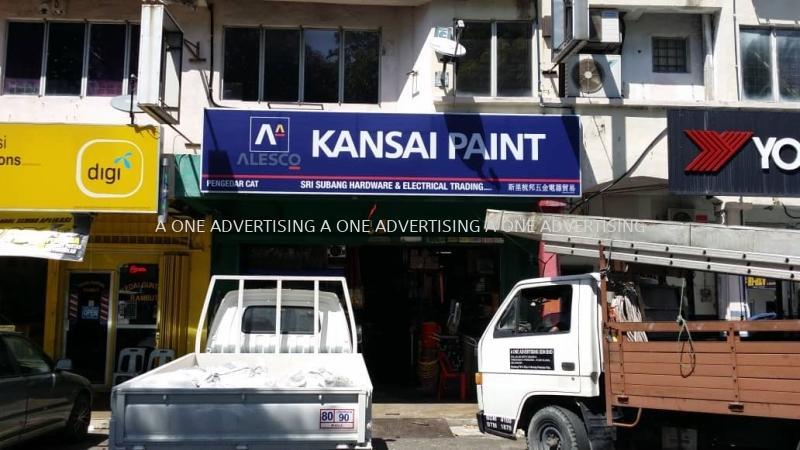 Kansai Paint ( Sri Subang ) GI Metal Signage Selangor, Kuala Lumpur (KL), Klang, Malaysia Supplier, Supply, Manufacturer, Service   A One Advertising Sdn Bhd