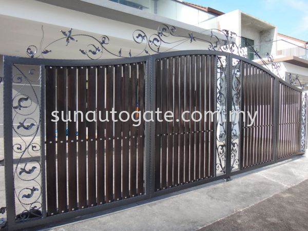 Wrough Iron And Aluminium Penang, Malaysia, Bukit Mertajam, Simpang Ampat Autogate, Gate, Supplier, Services | Sun Autogate & Engineering