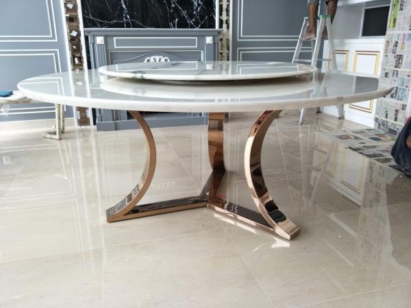 White Marble Dining Table Marble Dining Table Selangor, Kuala Lumpur (KL), Malaysia Supplier, Suppliers, Supply, Supplies | DeCasa Marble Sdn Bhd