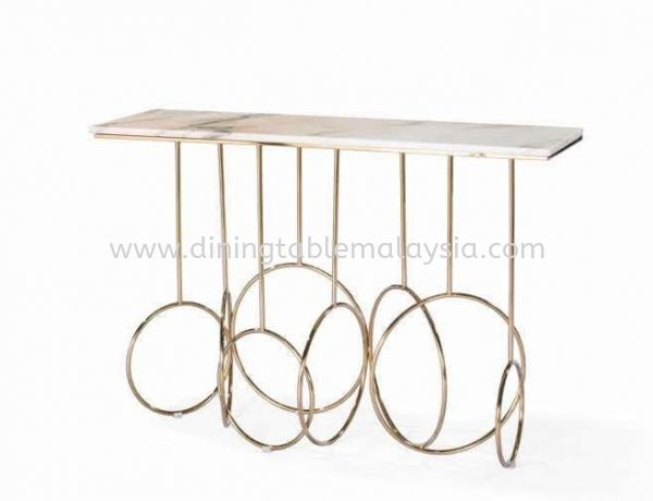 White Marble Console Table Marble Coffee Table Malaysia, Selangor Supplier, Wholesaler | DeCasa Marble Sdn Bhd