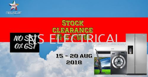 Stock Clearance Before SST