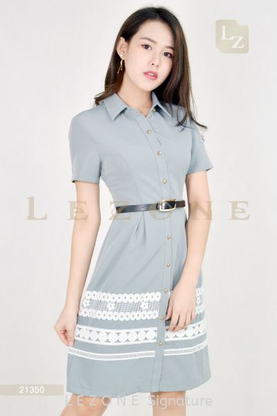 21350 A-LINE LACE DETAIL DRESS¡¾2 FOR RM149¡¿ Dresses On Sale S A L E  Selangor, Kuala Lumpur (KL), Malaysia, Serdang, Puchong, Cheras Supplier, Suppliers, Supply, Supplies   LE ZONE Signature