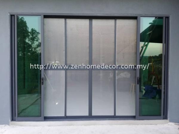 Sliding Aluminium Net Mosquito Netting Selangor, Malaysia, Kuala Lumpur (KL), Puchong, Shah Alam Supplier, Suppliers, Supply, Supplies | Zen Home Decor