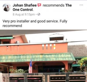 customer review on fb
