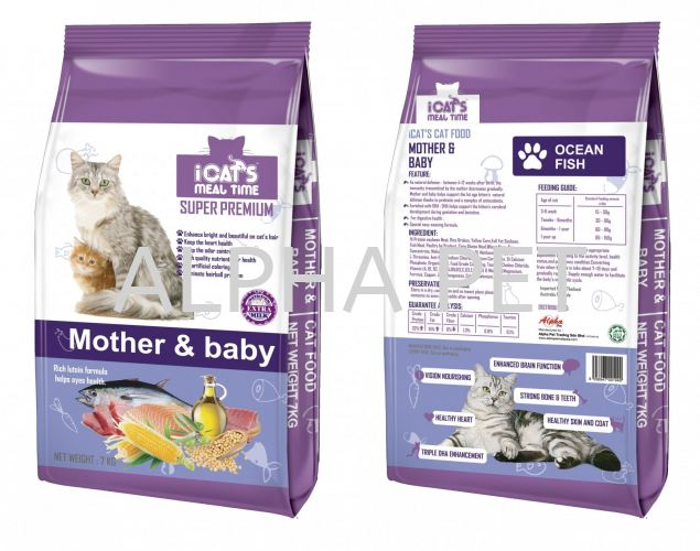 iCAT'S Premium Cat Food - Mother & Baby