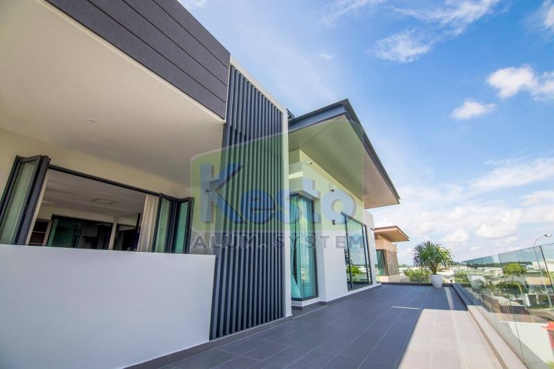 Decorative Aluminium Johor Bahru (JB), Tebrau Contractor, Supplier, Supply | Kesto Aluminium System (JB) Sdn Bhd