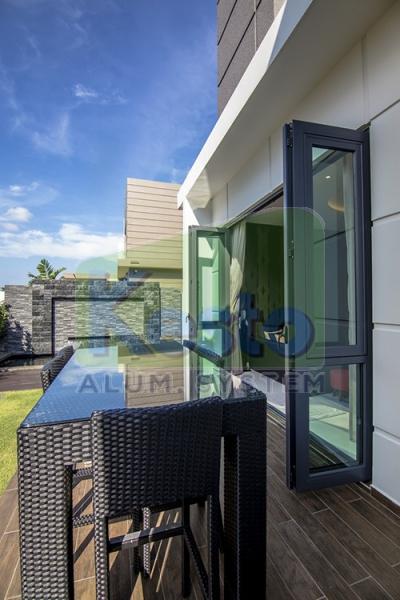 KTV Room Folding Door Johor Bahru (JB), Tebrau Contractor, Supplier, Supply   Kesto Aluminium System (JB) Sdn Bhd