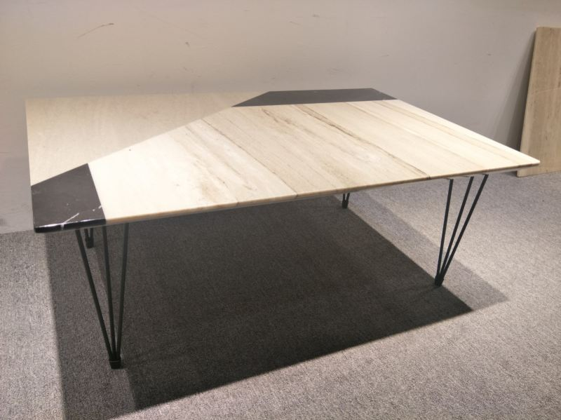 Leaf-Shape Marble Coffee Table Marble Coffee Table Clearance Item Selangor, Kuala Lumpur (KL), Malaysia Supplier, Suppliers, Supply, Supplies | DeCasa Marble Sdn Bhd