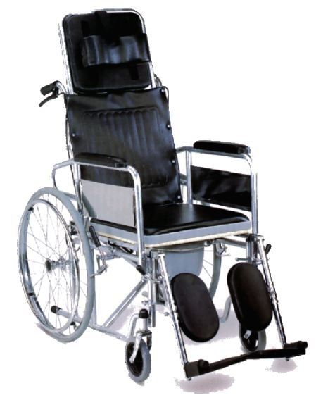 Reclining Wheelchair with commode (RM799) Reclining Wheelchairs Wheelchairs Sabah, Malaysia, Kota Kinabalu Supplier, Suppliers, Supply, Supplies | Kreino Sdn Bhd