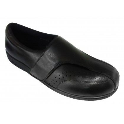 M6038 Black Medical Grade Footwear Pre-diabetic (RM219) Diabetic Shoe Medifeet Health & Comfy Shoe Sabah, Malaysia, Kota Kinabalu Supplier, Suppliers, Supply, Supplies   Kreino Sdn Bhd