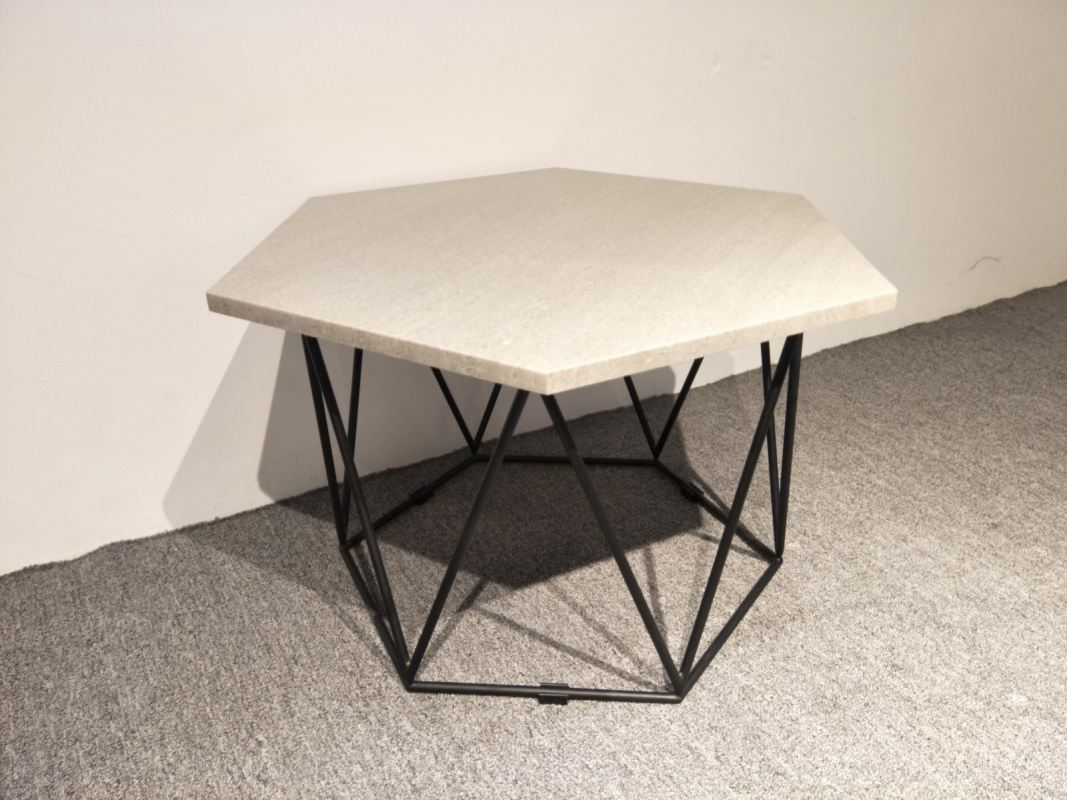 Hexagon Marble Coffee Table