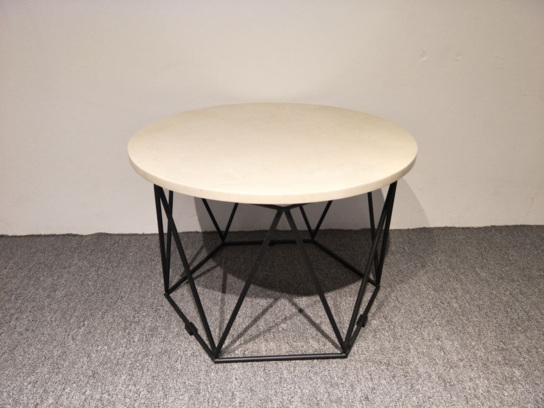 Buy Marble Coffee Table Hexagon Stand Product Online Selangor - Hexagon marble coffee table