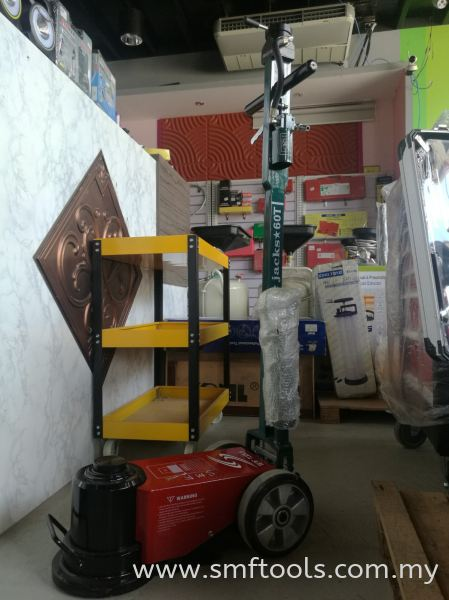 SMFTOOLS 1 Level Air Hydraulic Jack 60Ton (TGT-60T1) Air Hydraulic Jack Hydraulic Tools Johor Bahru (JB), Kulai, Malaysia Supplier, Suppliers, Supply, Supplies   SMF Global Marketing