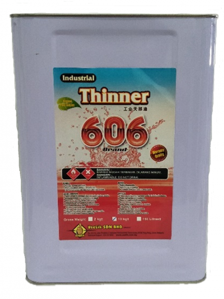 Industry Thinner 606 10kg Chemical Solvent Malaysia Johor Yong Peng Supply Suppliers Manufacturers | USELIK SDN BHD