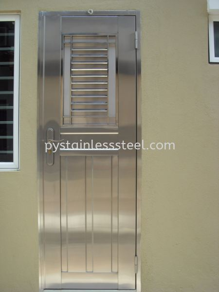 Stainless Steel Safety Door Stainless Steel Safety Door Selangor, Kajang, Kuala Lumpur (KL), Malaysia Contractor, Supplier, Supply   P&Y Stainless Steel Sdn Bhd