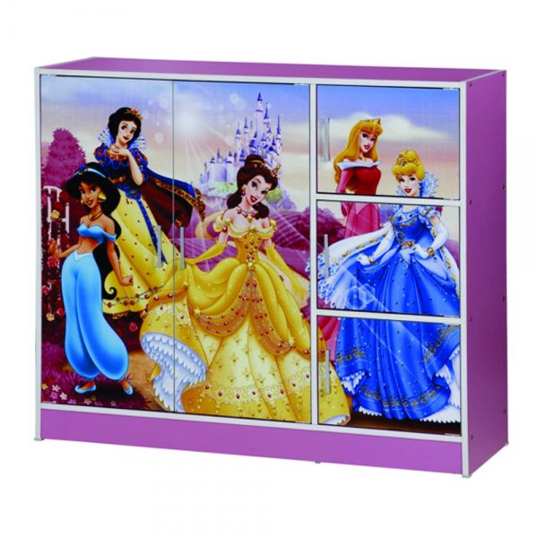 DISNEY PRINCESS 2 DOORS CHILDREN WARDROBE (WD SU332-PKB) Wardrobe Chest / Chest Of Drawer Furniture East Malaysia Malaysia, Sabah, Kota Kinabalu Supplier, Suppliers, Supply, Supplies | Chan Furniture (Malaysia) Sdn Bhd
