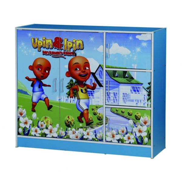 UPIN IPIN 2 DOORS CHILDREN WARDROBE (WD SU332-BLB) Wardrobe Chest / Chest Of Drawer Furniture East Malaysia Malaysia, Sabah, Kota Kinabalu Supplier, Suppliers, Supply, Supplies | Chan Furniture (Malaysia) Sdn Bhd