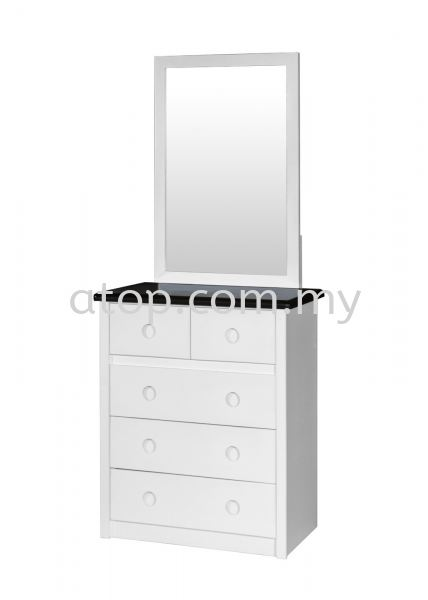 Dressing Table DTMG 9809 (WHW) Dressing Table Malaysia, Selangor, Kuala Lumpur (KL), Rawang Manufacturer, Maker, Supplier, Supply | Atop Trading Sdn Bhd