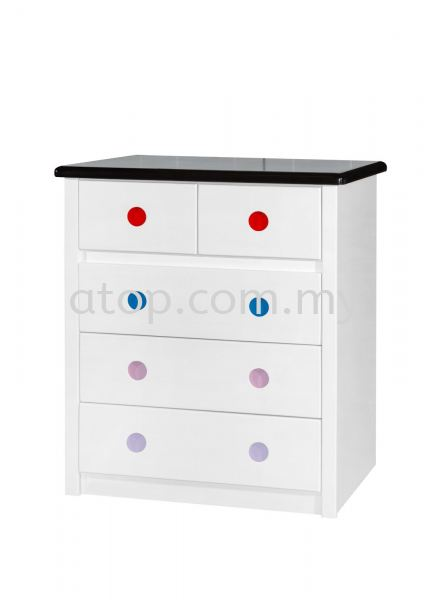 Chest Drawer CD 9609 (WHW+RBPC) Chest Drawer Malaysia, Selangor, Kuala Lumpur (KL), Rawang Manufacturer, Maker, Supplier, Supply | Atop Trading Sdn Bhd