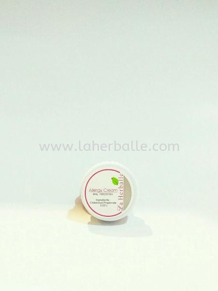 Allergy cream Sensitive / Acne-prone skin Skin Type Kuala Lumpur (KL), Selangor, Penang, Malaysia Supplier, Suppliers, Supply, Supplies | La Herballe