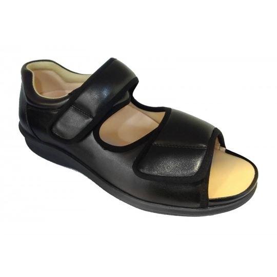 m6051 Black Medical Grade Footwear Post-diabetic (RM289) Diabetic Shoe Medifeet Health & Comfy Shoe Sabah, Malaysia, Kota Kinabalu Supplier, Suppliers, Supply, Supplies   Kreino Sdn Bhd