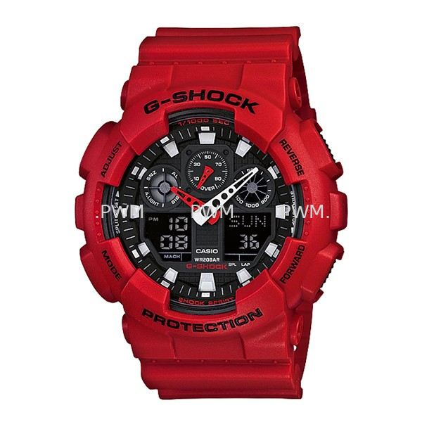 GSHOCK GA100B-4A Standard Analog-Digital G-Shock Penang, Malaysia, Bayan Baru Watches, Supplier, Supply, Supplies | TYME®